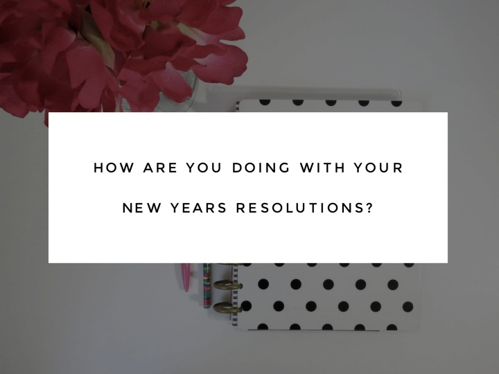 Gut Check: Are You Keeping Up with Your New Year's Resolutions?