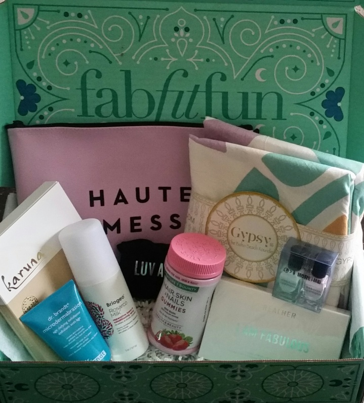 An Honest Breakdown of the Spring FabFitFun Box
