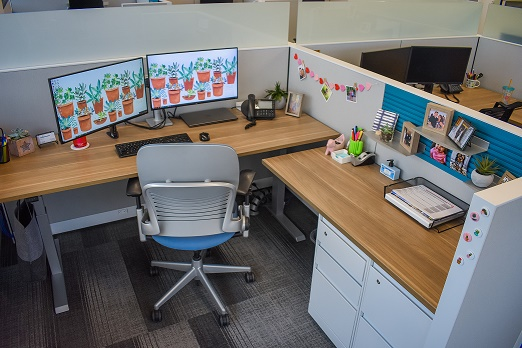 Spring-ify Your Desk Decor