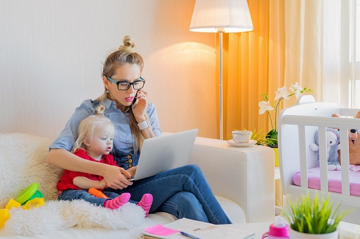 """Top 7 Tips for """"Work at Home"""" MomLife"""